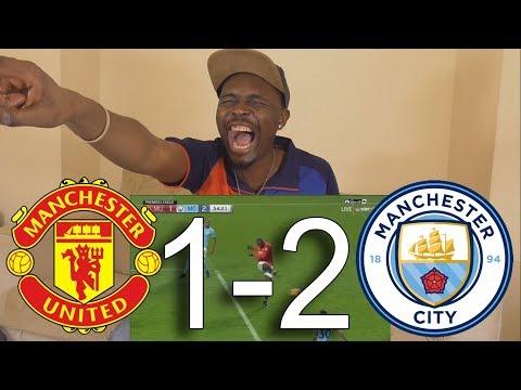 La Liga Fan React To Manchester United vs Manchester City 1-2 All Goals