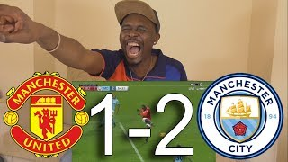 La Liga Fan React To Manchester United vs Manchester City 1-2 All Goals