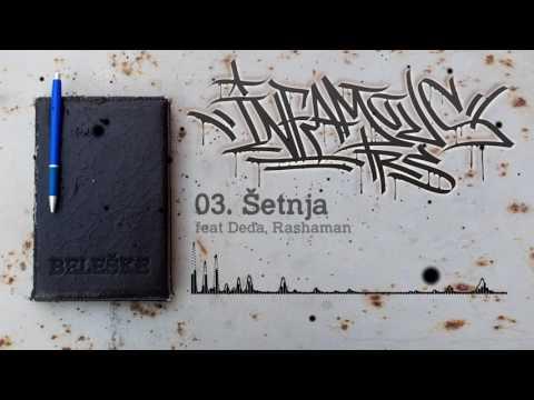 03 Infamous - Šetnja feat Deda, Rashaman (prod by Hajtek)
