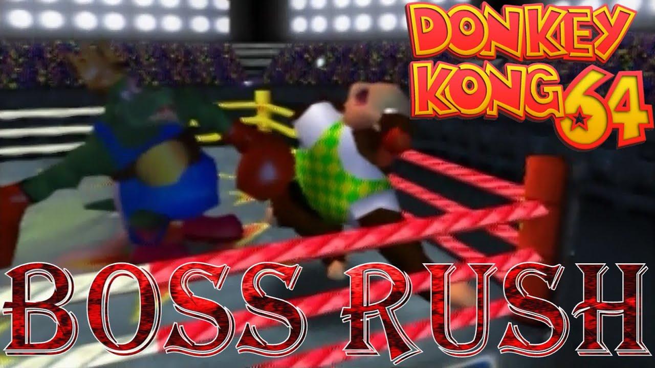 Donkey Kong 64 - Boss Rush - YouTube  Donkey Kong 64 ...