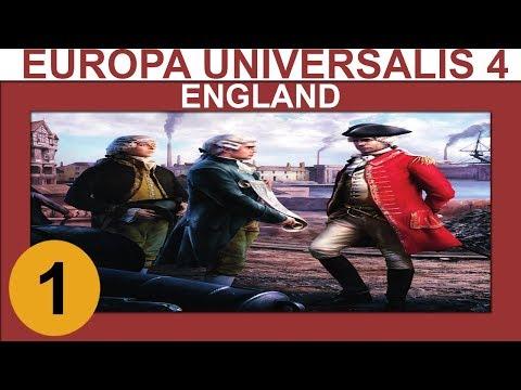 Europa Universalis 4: Rule Britannia - England - Ep 1 - Let's Play Gameplay  