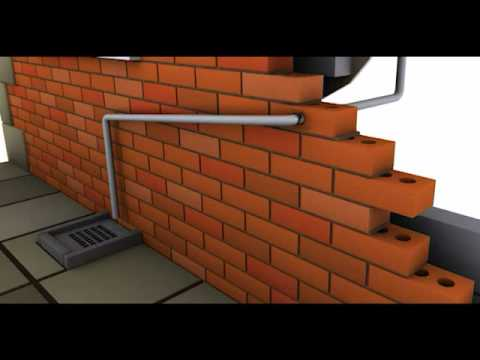 Frozen Condensate boiler pipework frost protection - YouTube