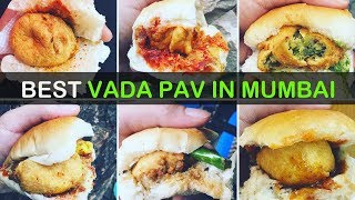 BEST Vada Pavs You MUST HAVE  In Mumbai | Indian Burger