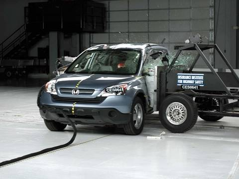 2007 Honda CR-V side test