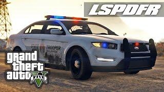 LSPDFR SP E25 - State Trooper Sandy Shores Patrol