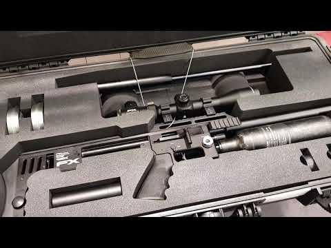 FX Impact arrow kit de supervivencia PCP Bullpup - YouTube