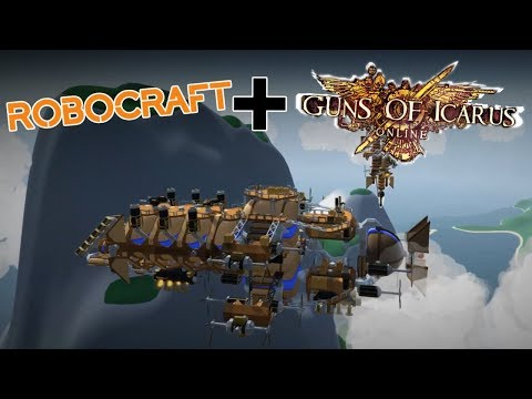 Robocraft + Guns of Icarus = Airmen