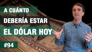 # 94 - ¿A cuánto debe estar el dólar hoy?  - FTS
