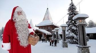 Joulupukin pajakylä ennen Joulua: Joulupukki video Rovaniemi Napapiiri Lappi perheohjelma