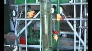 видео Влияние промывки глинистым раствором.