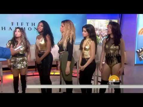 Fifth Harmony teach John Cena how to booty - pop (Today Show)