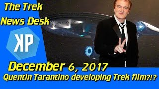 Quentin Tarantino Developing a New Star Trek Film?