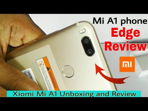 Xiaomi mi A1 Unboxing and review (edge) हिंदी में  | mi a1 mobile 2017 fast review