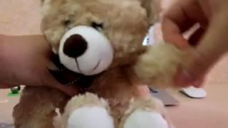 Милый плюшевый мишка с AliExpress Распакова + Обзор