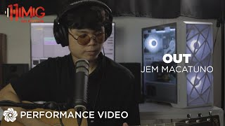 Jem Macatuno performs Fana's Out Version 2.0
