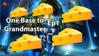 StarCraft 2: STINKY CHEESE!! - ONE BASE to Grandmaster Episode 1