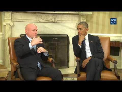 President Obama & NASA Astronaut Scott Kelly