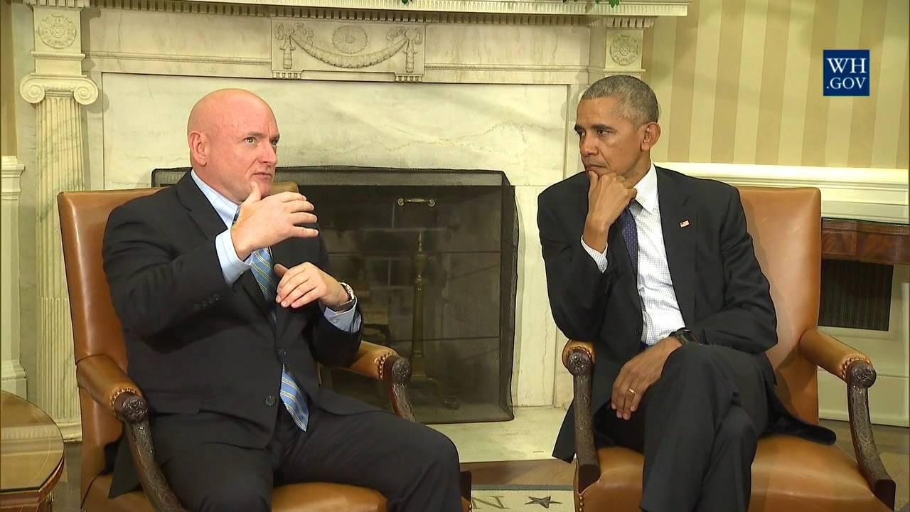 President Obama & NASA Astronaut Scott Kelly