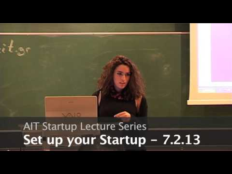 AIT Startup Lecture Series: Steps to Success - Nayia Antoniou