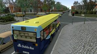 Omsi Bus Simulator Man NL 202 Dublin Bus Route 11 to Wadelia Park