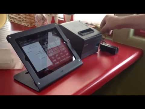 POS Lavu Credit Card Processing with Mercury/Vantiv Integrated Payments USB Reader