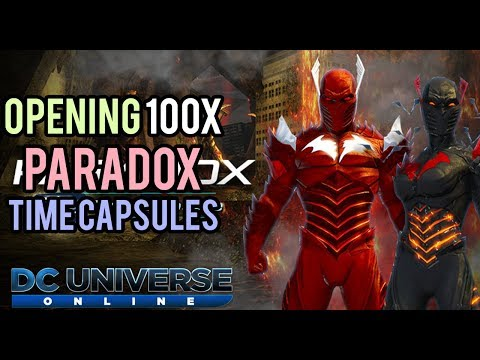 DCUO | Opening 100x Paradox Time Capsules [LIVESTREAM]
