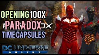 DCUO   Opening 100x Paradox Time Capsules [LIVESTREAM]