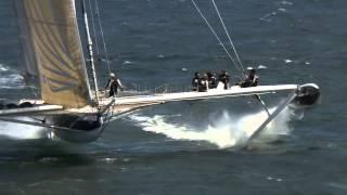 тримаран на подводных крыльях(Это видео создано с помощью видеоредактора YouTube (http://www.youtube.com/editor), 2014-12-19T00:09:53.000Z)