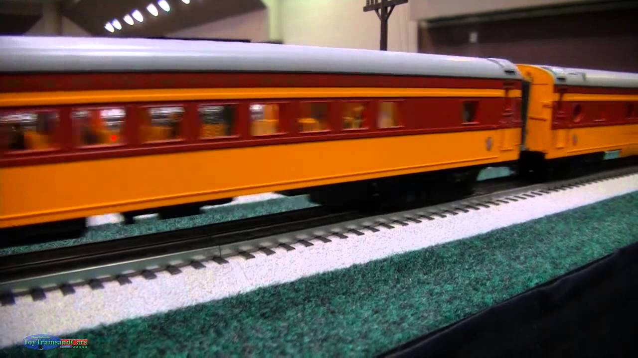 O And Ho Scale Model Trains Amtrak Hiawatha And Aeolus