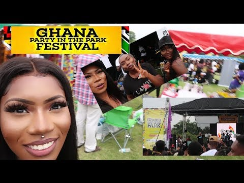 GHANA PARTY IN THE PARK FESTIVAL 2019 VLOG | KIDI, STONEBWOY, FOOD, MUSIC, CULTURE