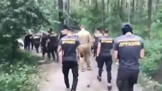 Нацдружины снесли табор в Голосеевском парке