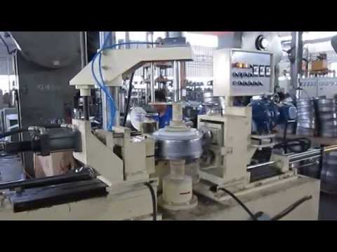 Sunglory cookware edge cutting, trimming & pressing machine
