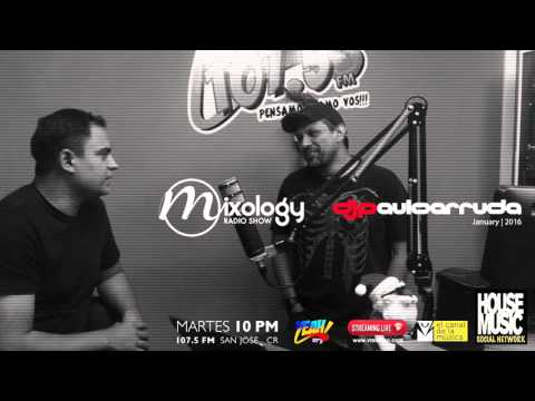 DJ Paulo Arruda - Mixology Radio Show FM 107.5 Costa Rica Jan/2016