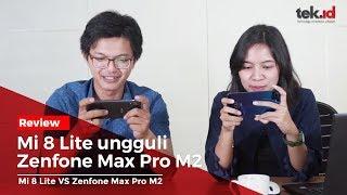 Zenfone Max Pro M2 keok lawan Mi 8 Lite