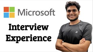 Microsoft Interview Experience 🔥Software Engineer   Web Developer