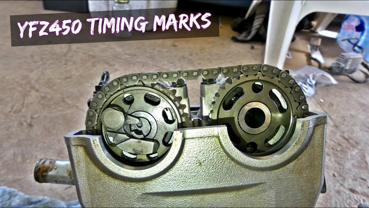 YAMAHA YFZ 450 HOW TO SET TIMING