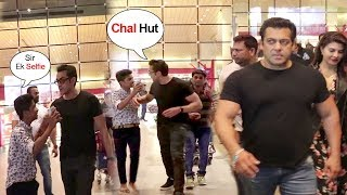 Bobby Deol's SHOCKING Behaviour With FANS At Airport After Getting RACE 3 From Salman Khan