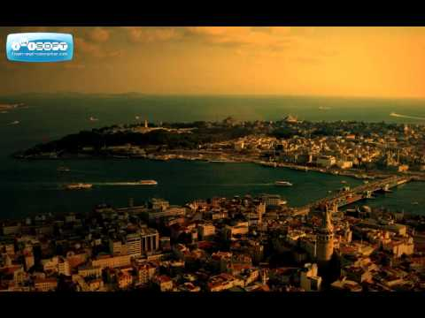 Day & night aerial istanbul hi-jazz (hicaz) - timeless city - visit Istanbul Turkey