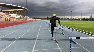 110 metre engelli ve 60 metre engelli Türkiye rekorlarının hazırlık süreci Batuhan Eruygun