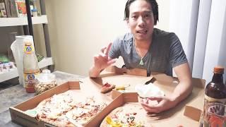 💥360-ăn 2 cái Pizzza  bự chà bá