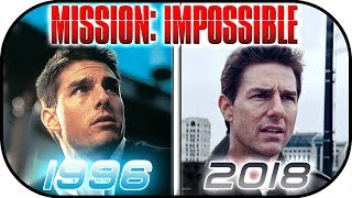 EVOLUTION of MISSION IMPOSSIBLE movies (1996-2018) Tom Cruise History, Then and now. Ethan Hunt