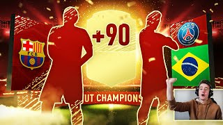 OMG! TRAFIŁEM WALKOUT 90+ ! NAGRODY ZA FUT CHAMPIONS | FIFA 20 ULTIMATE TEAM