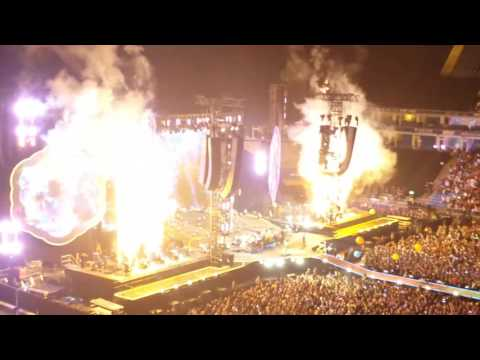 Coldplay - up&up Hamburg 01.07.16 Volksparkstadion