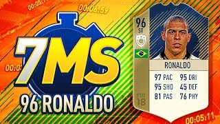 INSANE PRIME R9 RONALDO 7 MINUTE SQUADS!!! FIFA 18 Ultimate Team