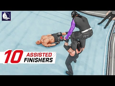 WWE 2K19 Top 10 Assisted Finishers #2