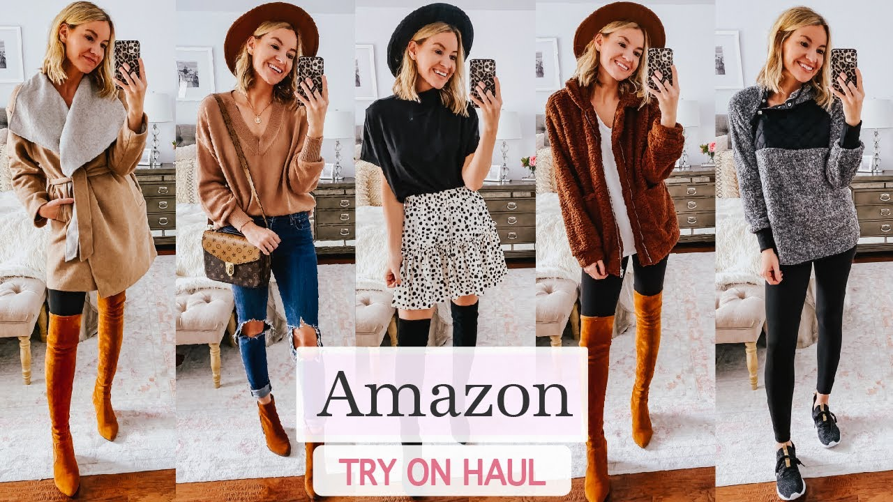 [VIDEO] - Amazon Fall Try On Haul 2019 || Fall 2019 Outfit Ideas 2