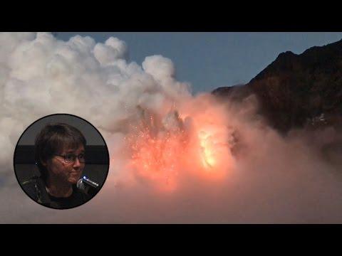 USGS Scientist Describes Lava Delta Collapse (Jan. 3, 2017)