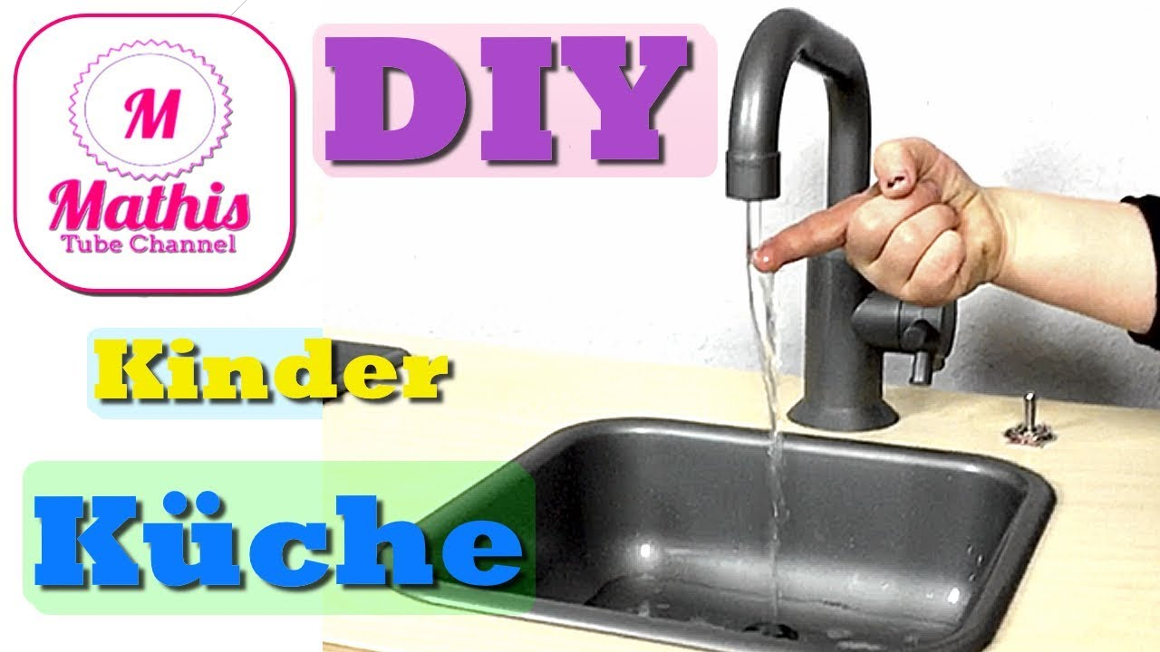 diy ikea kinderk che pimpen water in modern ikea play kitchen hack youtube. Black Bedroom Furniture Sets. Home Design Ideas