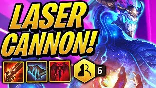 6 SHAPESHIFTERS and ONE GIANT LASER CANNON! | Teamfight Tactics | League of Legends Auto Chess