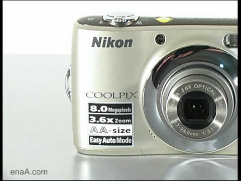 Nikon Coolpix L22 26198 Digital Camera Doovi